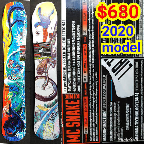 Lib Tech 2020 Lib Tech MC Snake Kink Snowboard 2020 model