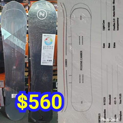 Nidecker Princess Ladies snowboard 147cm 2019 model