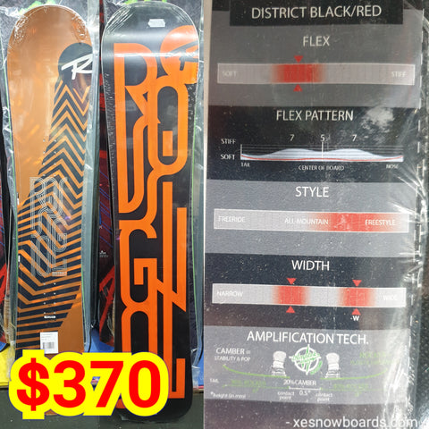 Rossignol DISTRICT 2020 model TOP BEGINNER board 146cm -151cm