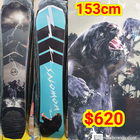 Salomon Ultimate Ride 153cm 2019 model previous GOOD WOOD MTN winner