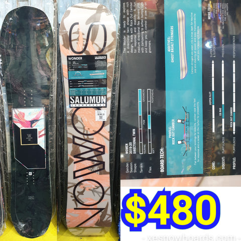 Salomon Wonder Ladies snowboard 2020 model 140cm