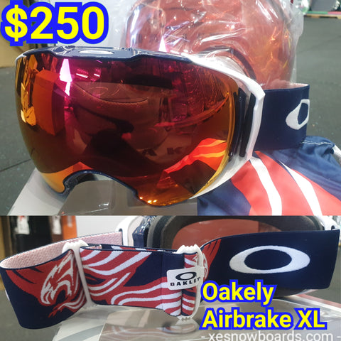 Oakley AIRBRAKE XL WITH BONUS LENS - team America DESIGN