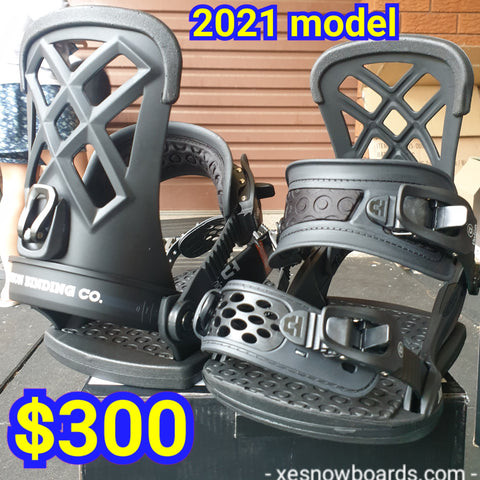 UNION Milan Ladies medium bindings 2021 model Black colour