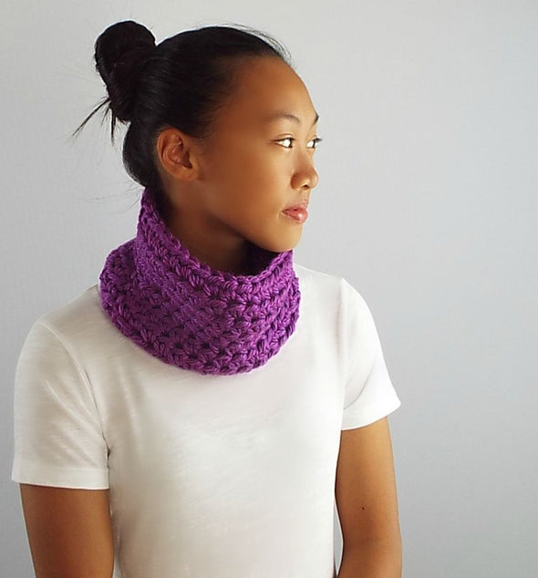 Chunky Neck Warmer Cowl