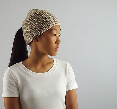 Ponytail Hat