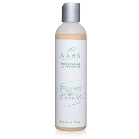 Inahsi Naturals Soothing Mint Sulfate-Free Clarifying Shampoo