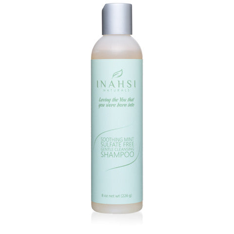 Inahsi Naturals Soothing Mint Gentle Cleansing Shampoo