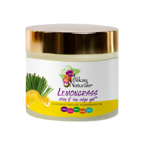 Alikay Naturals Lemongrass Slay And Lay Edge Gel
