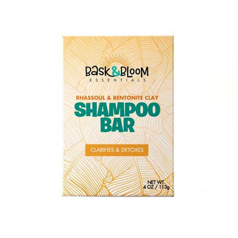 Bask & Bloom Essentials Rhassoul & Bentonite Clay Shampoo Bar