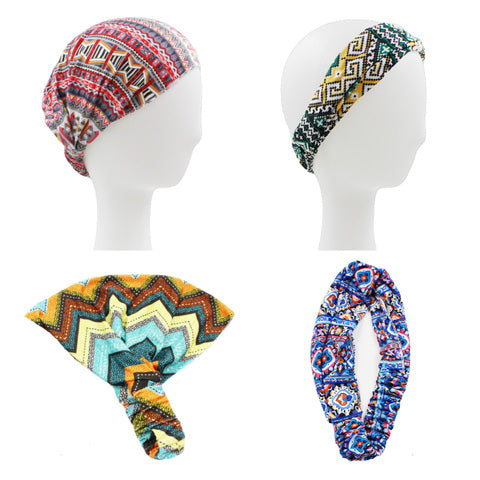 Hair Décor Tribal Print Multiway Headband