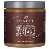 Inahsi Naturals Coconut Avocado Curl Defining Custard Gel
