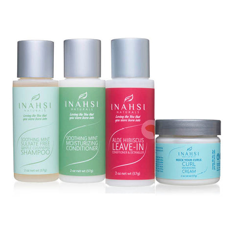 Inahsi Naturals Simple Wash-N-Go Trial Pack