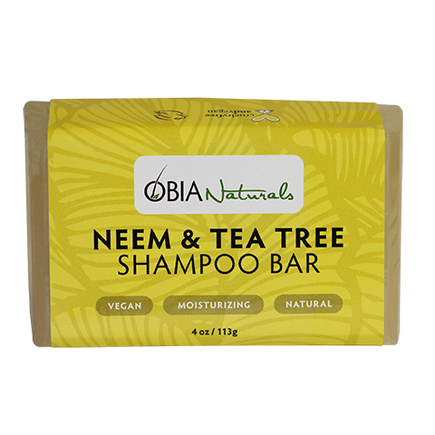 Obia Naturals Neem & Tea Tree Shampoo Bar