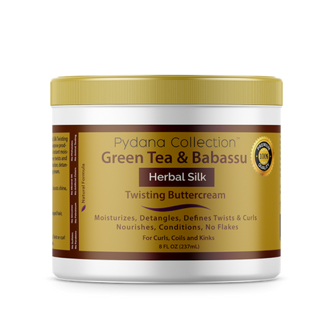 Pydana Green Tea & Babassu Herbal Silk Twisting Buttercream