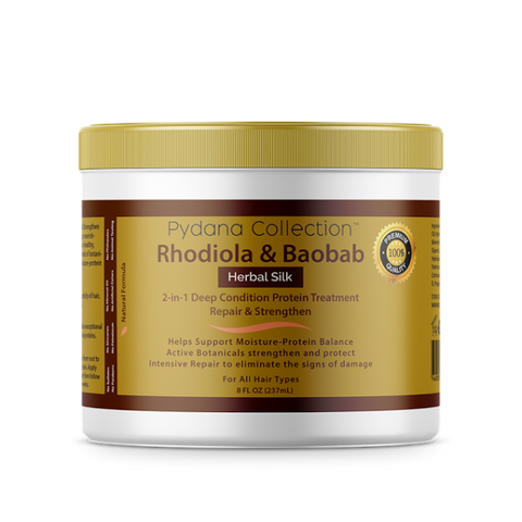 Pydana Rhodiola & Baobab 2-in-1 Deep Protein Treatment