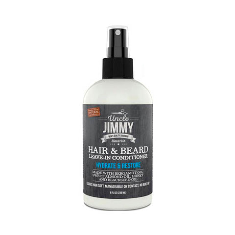Uncle Jimmy Hair & Beard Leave-In Conditioner - Men's Hair
