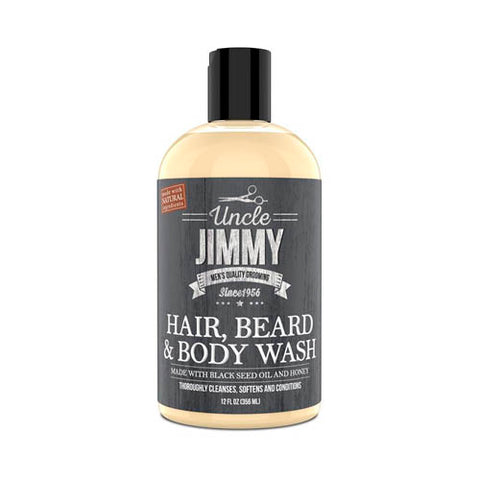 Uncle Jimmy Men's Hair & Beard Wash