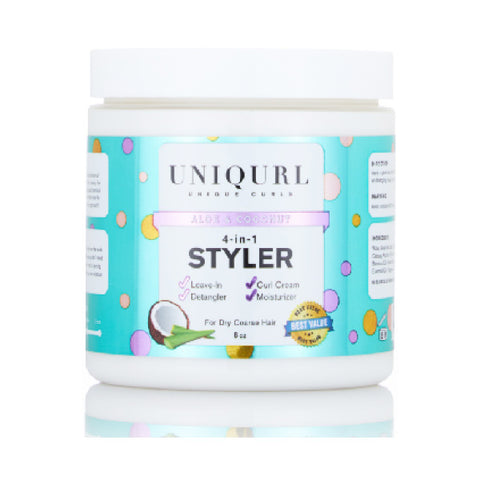 Uniqurl Aloe & Coconut 4-in-1 Styler