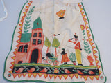 Unwashed Child's Tony Sarg Linen Apron Vintage Printed