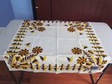 HTF CAHP Paper Doll Topper MWT Novelty Vintage Printed Tablecloth (34 X 33)
