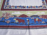 Startex Mexican Novelty Vintage Printed Tablecloth (51 X 47)