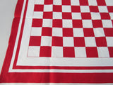 Ralston Purina Red Checkerboard MWT Novelty Vintage Printed Tablecloth (52 X 51)
