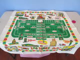 Las Vegas Nevada Gambling State Souvenir Novelty Vintage Printed Tablecloth (35 X 35)