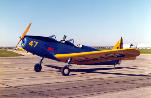 "Fairchild PT-19/PT-23/PT-26 A "" Cornell "" Blueprints"