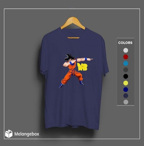 Anime Dab Melangebox Graphic Tee