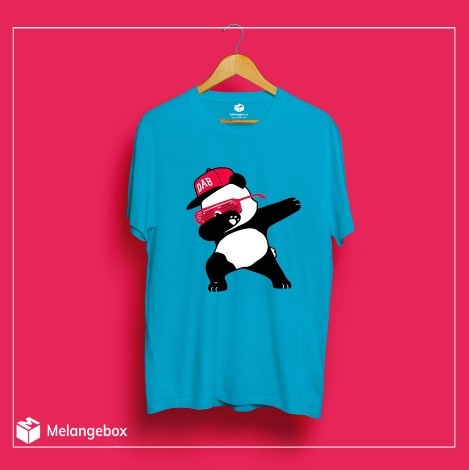 Panda Dab Melangebox Graphic Tee