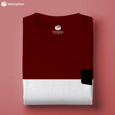 Queensland Melangebox Panel Tee