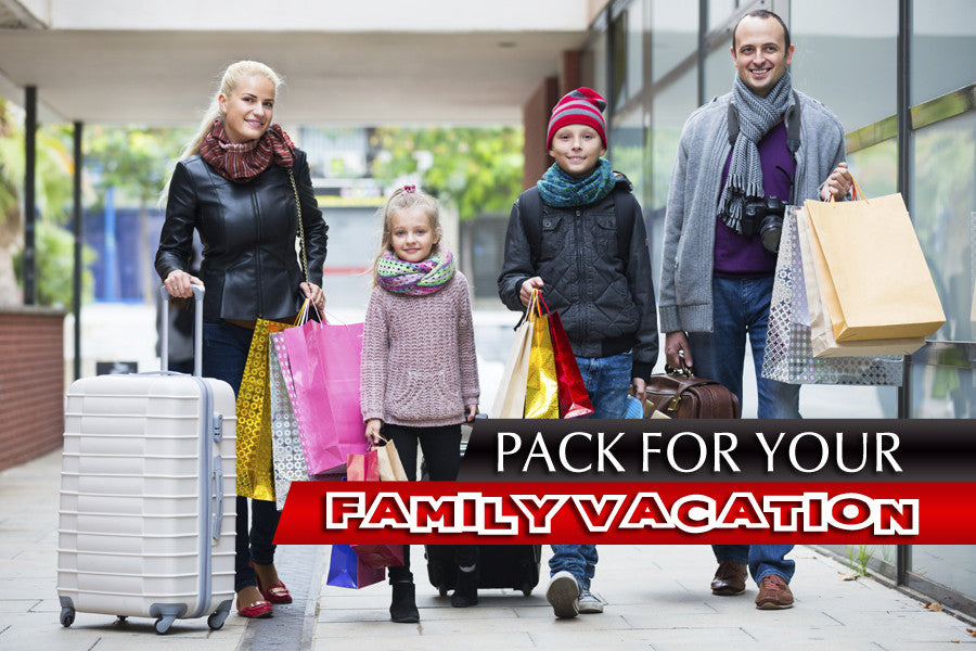 5 Things You Should Pack for Your Family Vacation