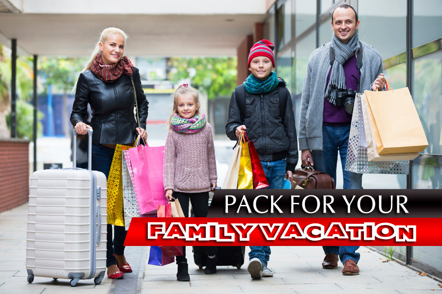 Pack for Your Family Vacation