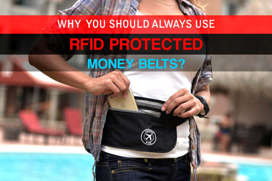 RFID Protected Money Belts
