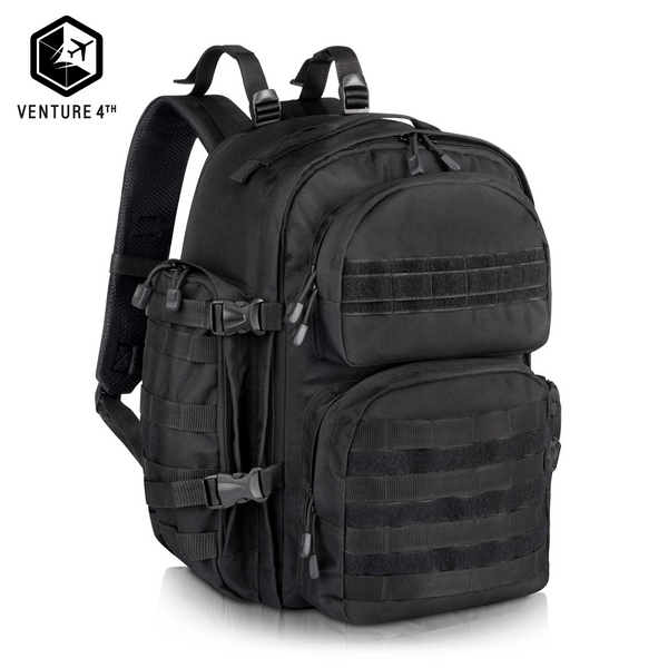 Military Tactical Backpack - Black