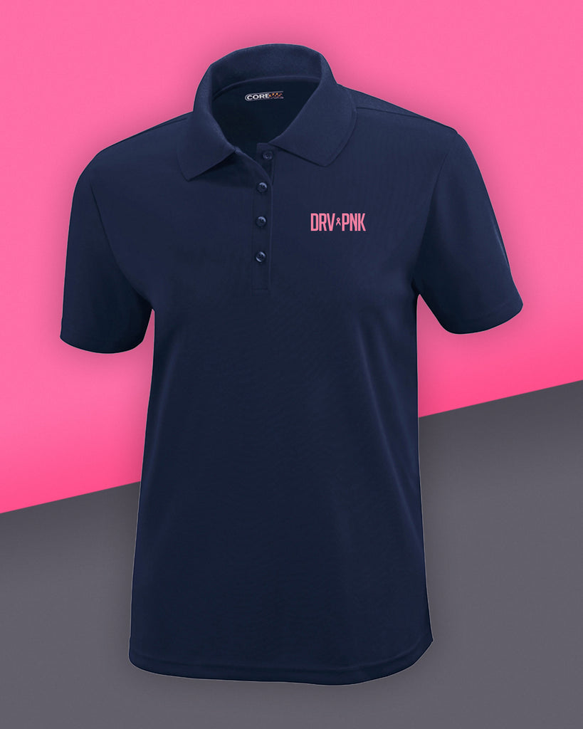 Ash City - Core 365 - Ladies' Drive Pink Piqué Polo - 3 Color Options
