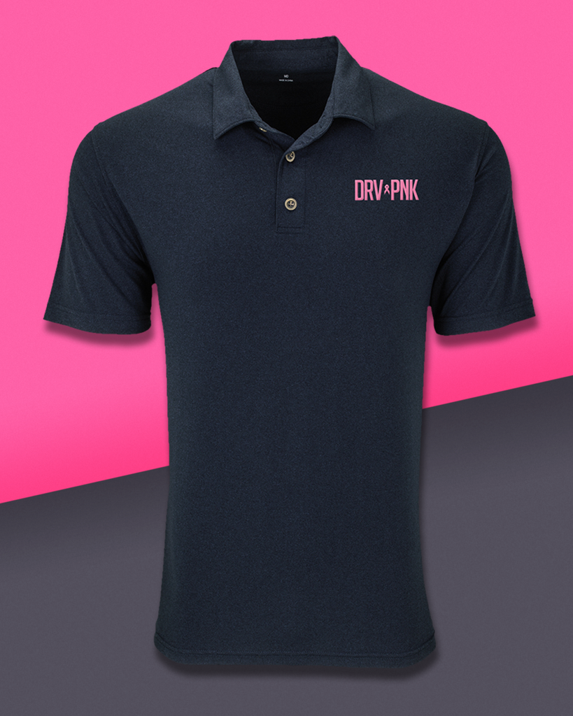 Vantage - Men's Drive Pink Vansport Planet Polo