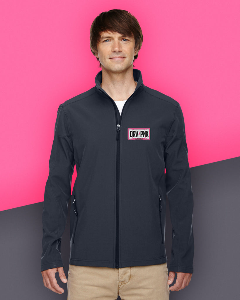 *AutoNation - Ash City - Core 365 Men's Cruise Two-Layer Fleece Bonded Soft Shell Jacket - Carbon