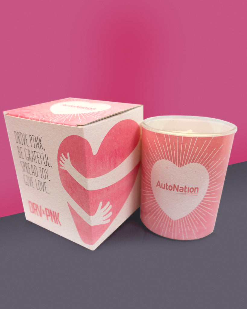 AutoNation Drive Pink Scented Candle