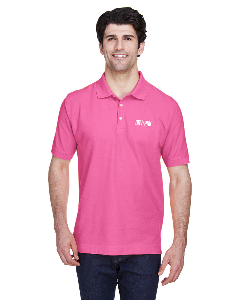 Devon & Jones - Men's Pima Piqué Short-Sleeve Polo - 2 Color Options