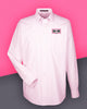 AutoNation - Devon & Jones Men's Crown Collection™ Striped Shirt - Pink/White