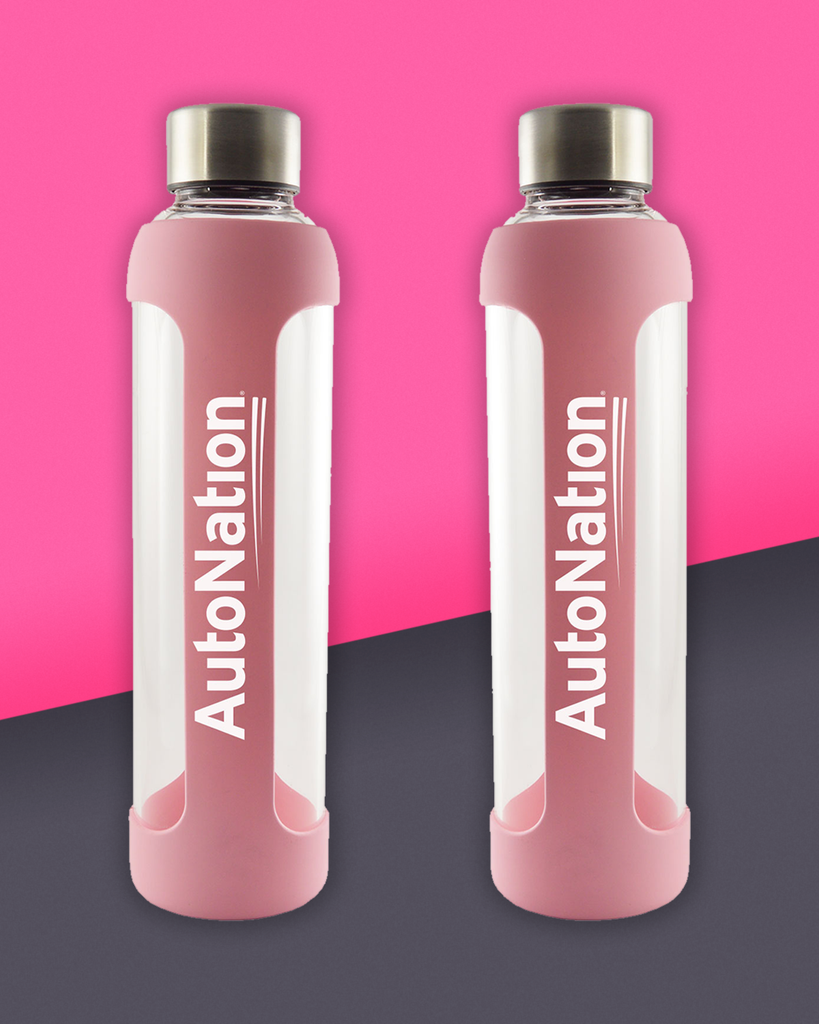 20 Oz. AutoNation Fusion Glass Water Bottle