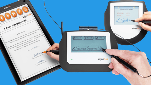 Electronic Signature Pads & Software