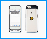 Barcode UHF RFID Reader/Writer Dock for iPhone, iPad & iPod Touch