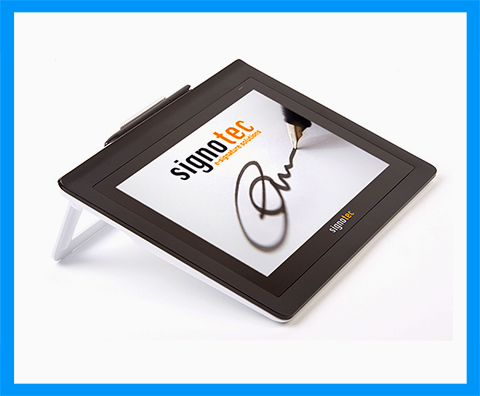 Signotec Delta e-Signature Pad - from MetaDolce Technologies