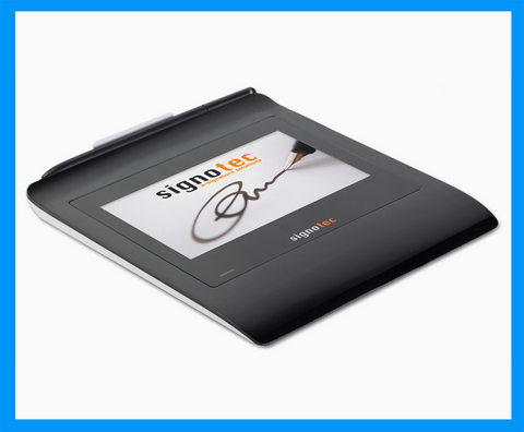 Electronic Signature Pad - Gamma LCD Color Signature Tablet ERT - MetaDolce Technologies - 1