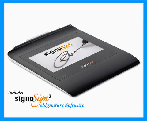 Electronic Signature Pad - Gamma Color LCD - HID USB - Gamma with SignoSign2 - MetaDolce Technologies - 1