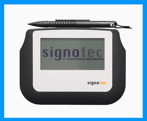 Electronic Signature Pad - Sigma LCD Signature Tablet - MetaDolce Technologies - 2