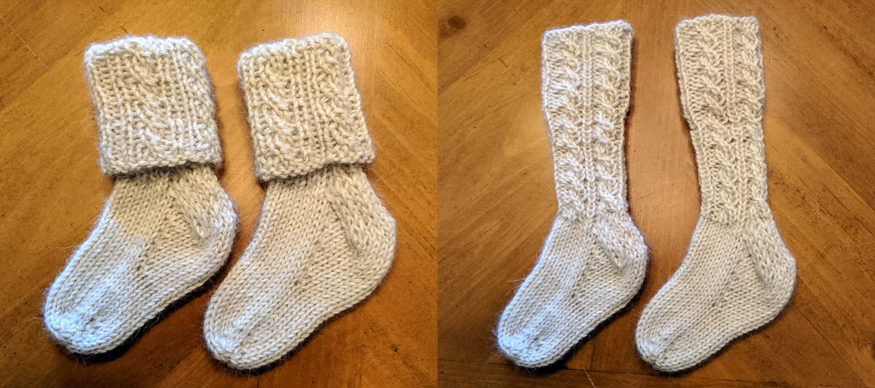 Knit Alpaca Baby Socks for Your Little One