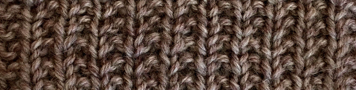 Knitting for Men: The Broken Rib Stitch Pattern